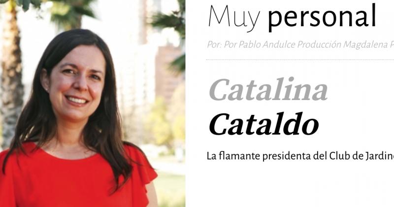 Catalina Cataldo La flamante presidenta del Club de Jardines.